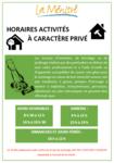 Horaires d'activités à caractère privé - PNG - 97.7ko