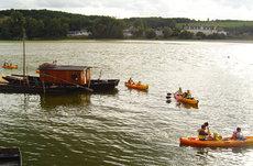 Balade en canoë sur la Loire