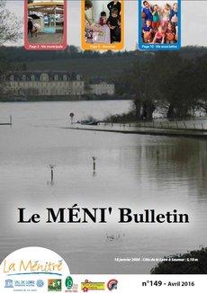 Méni'Bulletin N°149 - Avril 2016 - PDF - 698ko