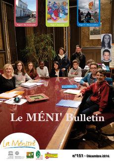 Méni bulletin n°151 - décembre 2016 - PDF - 2.7Mo